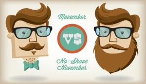 Differenze tra Movember e No-Shave November