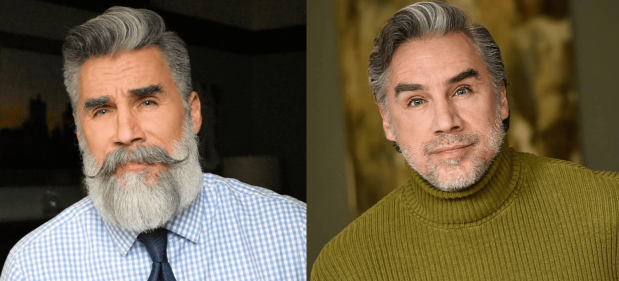 Differenza uomo con e senza barba
