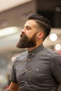 Barba lunga dalla forma squadrata