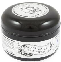 Balsamo per barba al pepe nero di Solomon's Beard