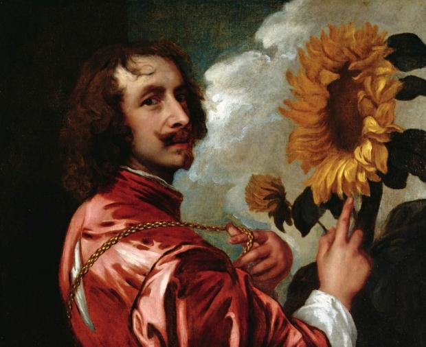 Ritratto di Antoon van Dyck da cui prende il nome il celebre stile di barba Van Dyke