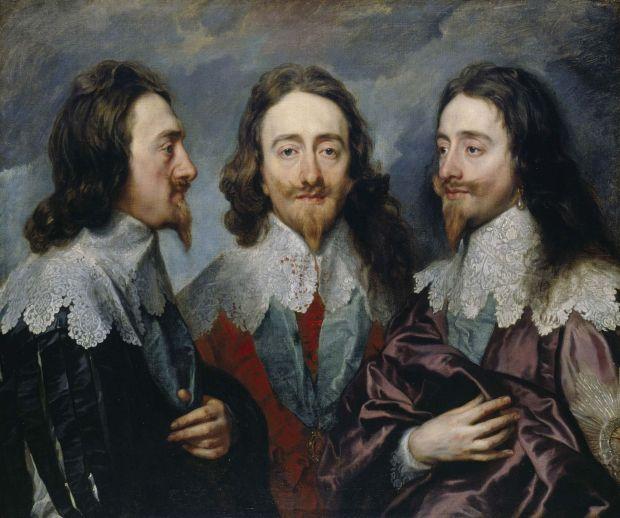 Ritratto di Charles I di Inghilterra dipindo da Antoon van Dyck
